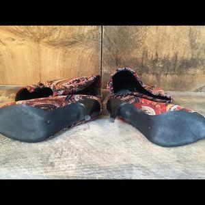 Diba Shoes - DIBA Velvet Tapestry Boots